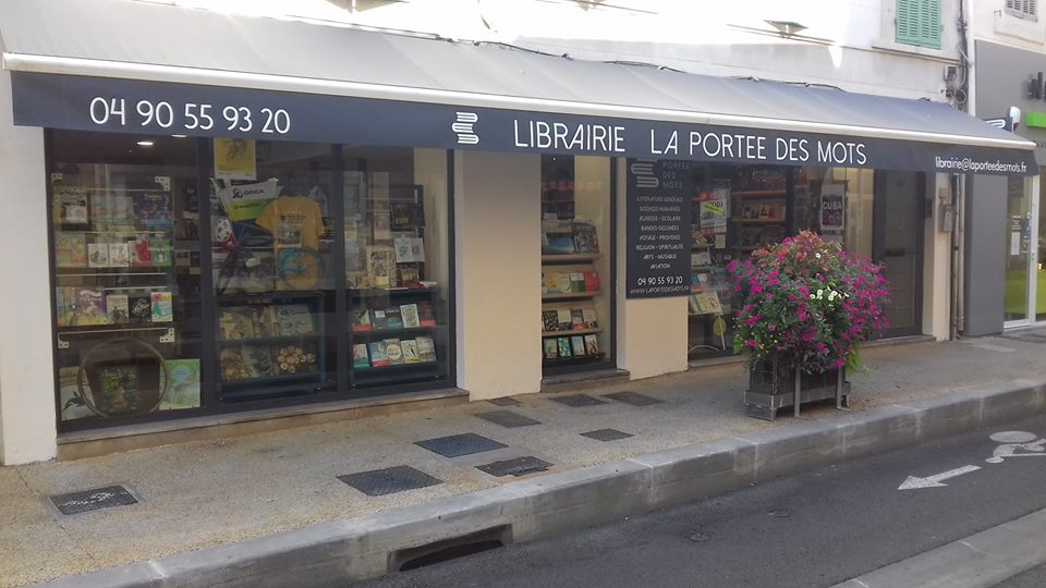 facade librairie